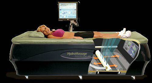 photo of a HydroMassage 350 water massage bed